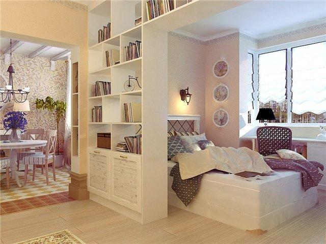 Декор однокомнатной квартиры фото